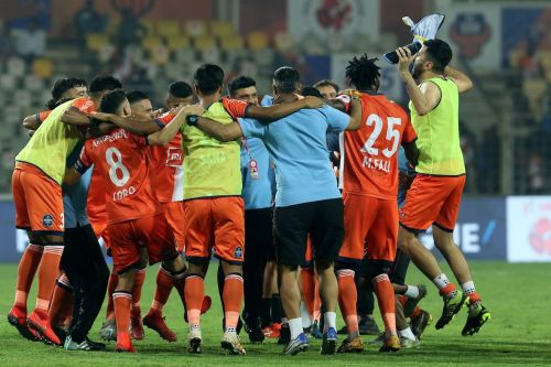 FC Goa booked their place in the playoffs with a comfortable win (Photo: ISL)