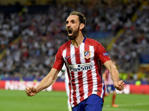 Juanfran played six times for Real Madrid's senior side
