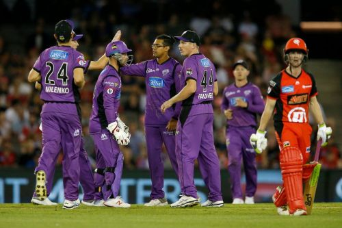 Hobart Hurricanes are the most in-form team this season
