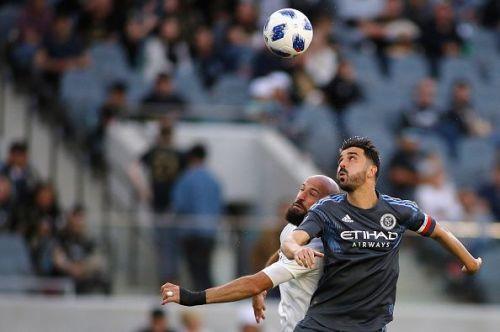 David Villa in action for New York City FC