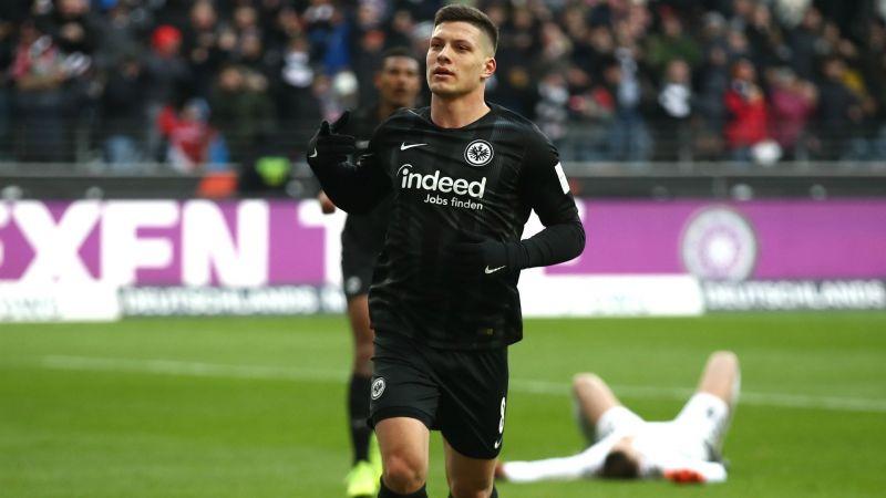 Znalezione obrazy dla zapytania luka jović vs Chelsea