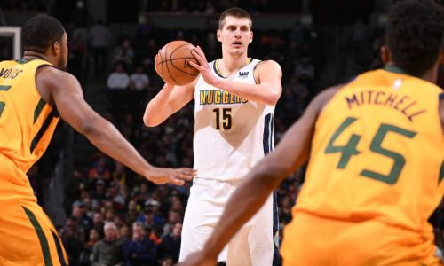 Nikola Jokic was selected as a second-round pick by the Nuggets back in 2014