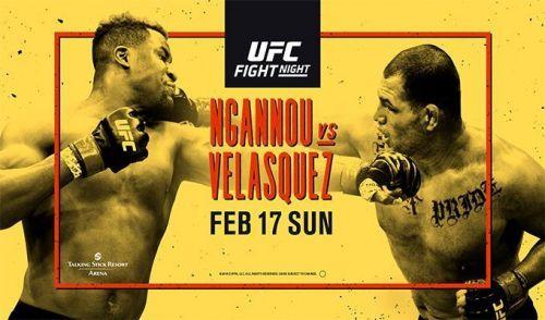 UFC on ESPN: Ngannou vs Velasquez