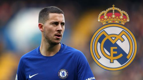 Eden Hazard Eyeing A Move For Madrid