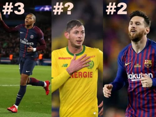 Emiliano Sala features on this list!
