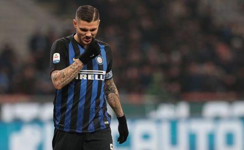 FC Internazionale's Mauro Icardi