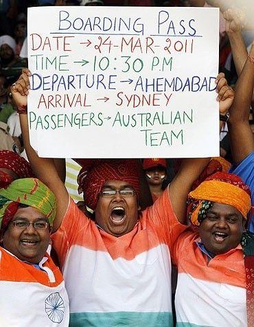 India vs Australia, Quarter Final match, ICC World Cup 2011