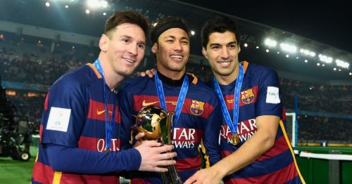 Messi, Suarez and Neymar formed the unstoppable MSN