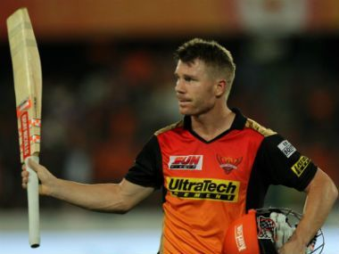 The highest run-getter for SRH, Warner will be returning after serving a one-year ban