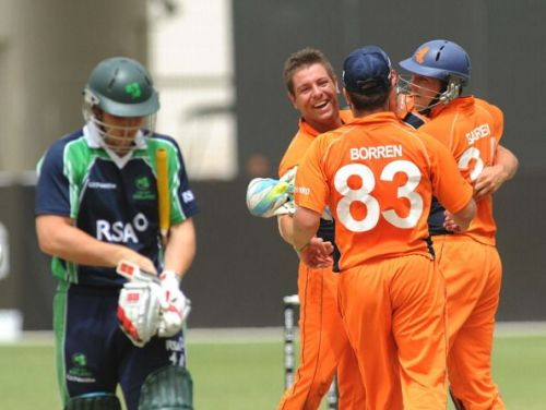 ICC World Twenty20 Qualifier: Preliminary Final - Ireland v Netherlands