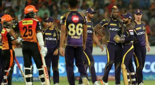 KKR vs SRH at IPL