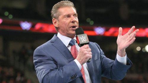 WWE Chairman 'Vince McMahon'.