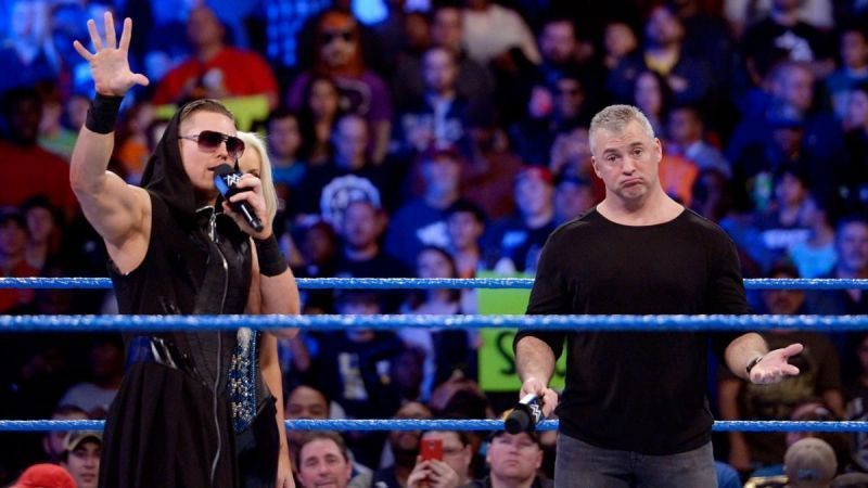 Shane McMahon and The Miz gave the match their all