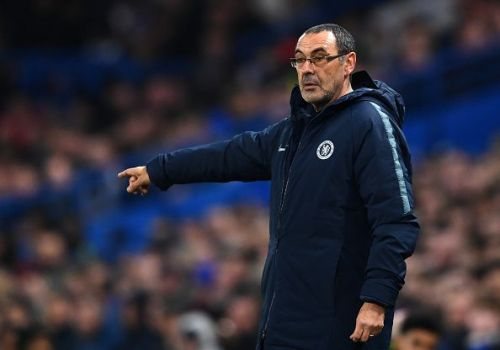 Sarri brought in a much-needed change to the starting XI
