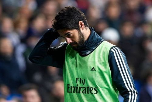 Isco has played the third-least number of minutes at Real Madrid under Santiago Solari