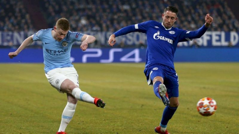 de Bruyne produced an accomplished display from a creative role as City probed and pressed Schalke