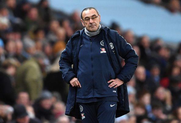 Maurizio Sarri is under pressure
