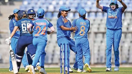 India Women will aim to clinch a maiden whitewash against the England Women.