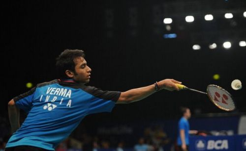 Sourabh Verma became the national champion for the third time