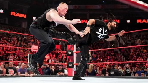 Could this be the scene we see at Wrestlemania 35?