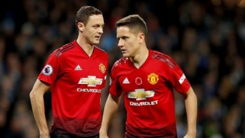 Matic and Herrera is the pillar in the midfield.