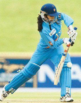 Mithali Raj crafting her splendid innings