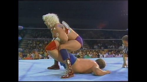 Ric Flair vs Harley Race