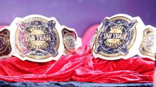 The women's tag team titles