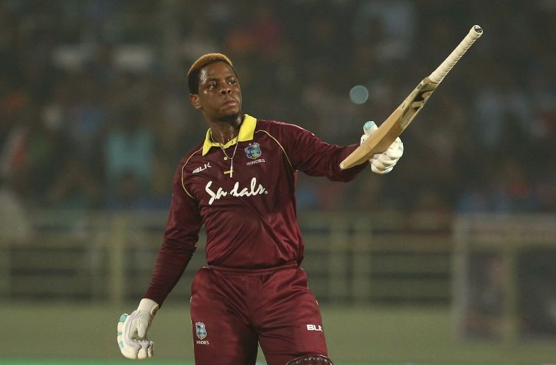 Hetmyer scored a brilliant ton against India in Nov