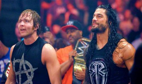 roman reigns and dean ambrose
