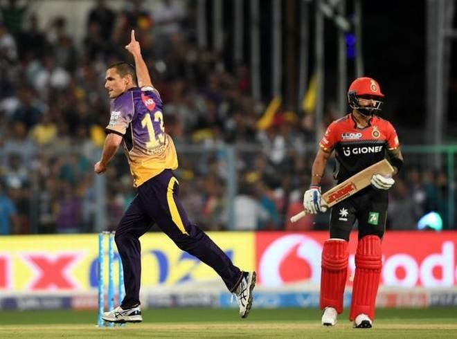 RCB all out on 49 vs KKR etChris Gayle scored fastest century in ipl history