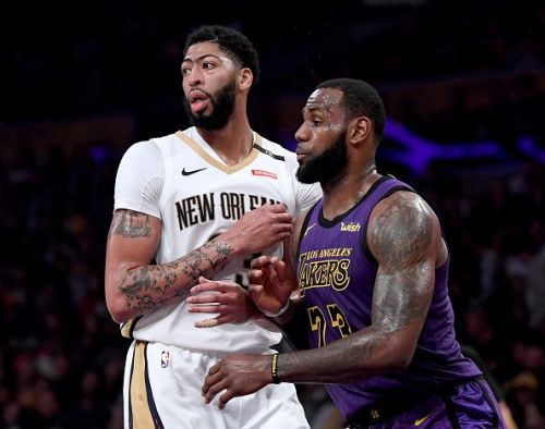 The Anthony Davis sweepstakes are officially on