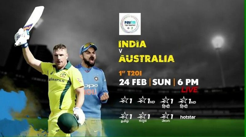 India vs Australia 2019: When and where to watch, live