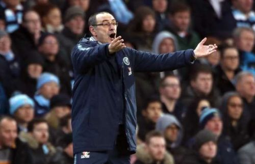 Maurizio Sarri has not lived up to expectation at Chelsea
