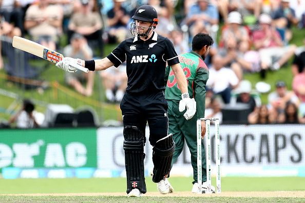 Henry Nicholls seems to have booked his spot as an opener at the expense of Colin Munro