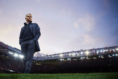 Jose Mourinho was in charge of Manchester United for two and a half seasons