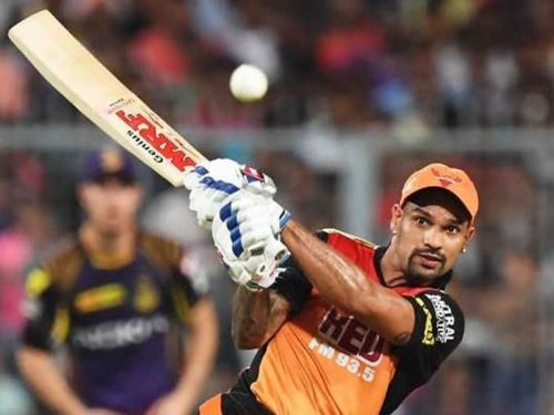 Dhawan played a plethora of important knocks for Sunrisers Hyderabad