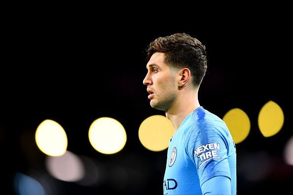 John Stones has been ruled out for Manchester City