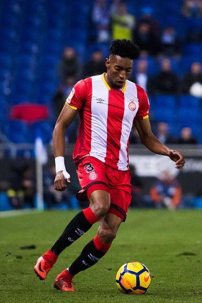 The Colombian defender will miss the game for Girona.
