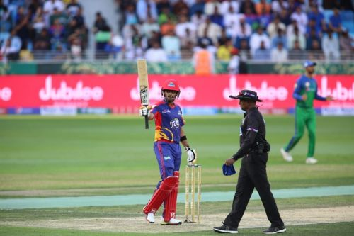 Livingstone scored quick fifty