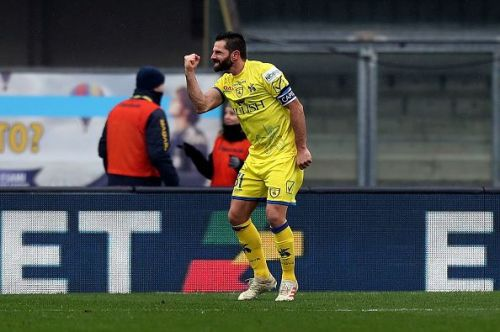 The 39-year old will be missing for Chievo