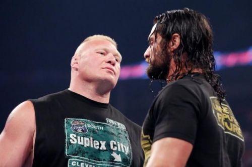 Brock Lesnar vs Seth Rollins is set for Wrestlemania 35