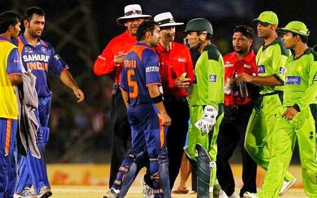 India And Pakistan Cricket Team