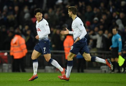 Son has scored 3 goals in his last 3 games for Spurs
