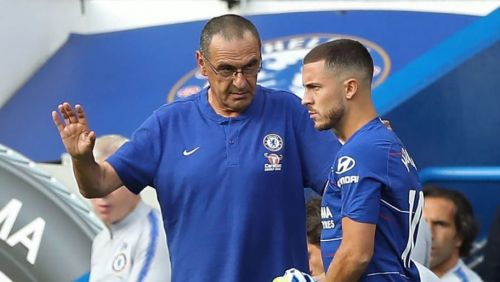 Chelsea are still adapting under Sarri according to Eden Hazard