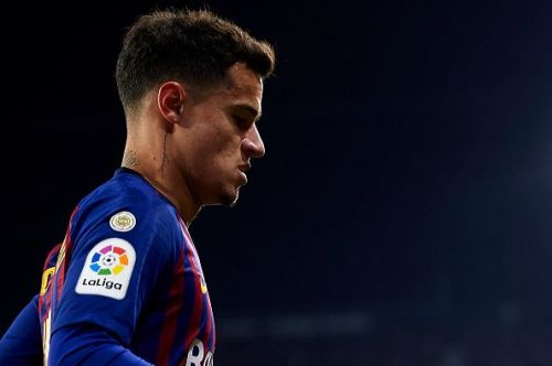 Coutinho has had a disappointing stint with Barcelona.