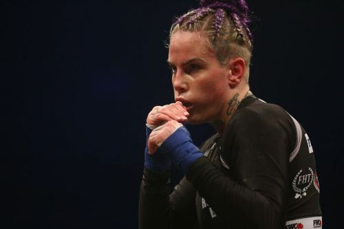 Bec Rawlings in Bare Knuckle Fighting Championship 2