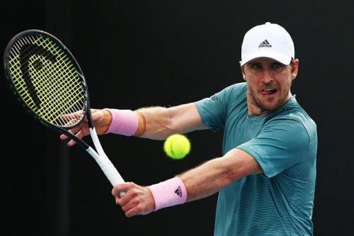 Mischa Zverev at 2019 Australian Open - Day 2