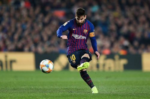 Lionel Messi has been in scintillating form this season