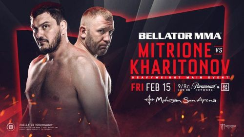 Matt Mitrione faces Sergei Kharitonov in the main event of Friday's Bellator 215